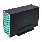 "i-tec MySafe USB 3.0 / USB-C External case for 2x 3,5"" SATA HDD, RAID 0/1/JBOD Support, CAMYSAFEDUAL35"