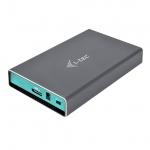 "i-tec MySafe USB 3.0, External case for hard drive 2.5"" 9.5mm SATA I/II/III HDD/SSD, U3MYSAFE025"