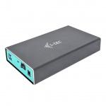 "i-tec MySafe USB 3.0, External case for hard drive 3.5"" SATA I/II/III HDD/SSD, U3MYSAFE035"