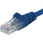 PremiumCord Patch kabel UTP RJ45-RJ45 CAT6 3m modrá, sp6utp030B