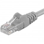 Premiumcord Patch kabel UTP RJ45-RJ45 level 5e 30m šedá, sputp300
