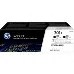 HP 201X tisková kazeta černá velká,CF400XD -2 pack, CF400XD