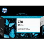 HP 730 130-ml Gray Ink Cartridge , P2V66A - originální