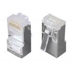 Solarix Konektor 8p8c CAT5E neskládaný,STP,drát (100ks), KRJS45/5SLD