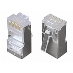 Solarix Konektor 8p8c CAT5E neskládaný,STP,licna (100ks), KRJ45/5SH