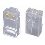 Solarix Konektor RJ45 CAT6 UTP 8p8c pro drát,100ks, KRJ45/6SLD