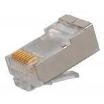 DATACOM Konektor RJ45 STP 8p8c Cat6 drát 10ks, 4136