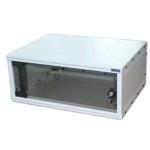 """Triton 19""""rozvaděč jednodílný 4U/400mm FLAT-PACK skl.dv., RXA-04-AS4-CAX-A1"""