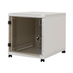 "Triton 19"" kont.rack12U,hl.1m,nosn.200kg,př.+zad.perforac, RCA-12-L61-CAX-A1-OZA"