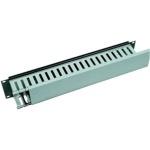 """Triton Vyvazovací panel 2U 19"""" s plastovým kabelovodem, RAB-VP-X04-A1"""