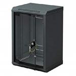 """10"""" rack jednodílný 4U/260 TRITON černý dveře sklo, RBA-04-AS3-BAX-C1"""