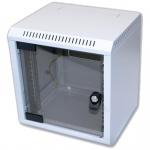 """10"""" rack jednodílný 6U/260 TRITON šedý dveře sklo, RBA-06-AS3-CAX-C1"""