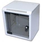 """10"""" rack jednodílný 9U/260 TRITON šedý dveře sklo, RBA-09-AS3-CAX-C1"""