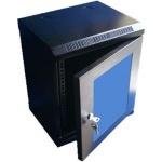 """10"""" rack jednodílný 12U/280 DATACOM černý Skl.dv., 7033"""