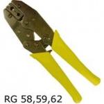 Full Konektorovací kleště RG58/59 račna, 502713222