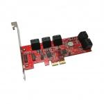 Addonics 6G 10-port SATA III PCIe 2X řadič, AD10SA6GPX2