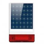 iGET SECURITY P12 - venkovní solární siréna, obsahuje také dobíjecí baterii, pro alarm M2B, SECURITY P12