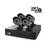 iGET HGDVK46704 - CCTV 4CH DVR + 4x HD kamera 720p, HGDVK46704