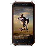 "iGET Blackview GBV4000 Orange 4,7"" - IPS, Quad-Core, 1GB+8GB, DualSIM, 3G, IP68, Android 7, 3680mAh, GBV4000 Orange"
