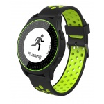 iGET ACTIVE A2 Green - chytré hodinky, IP68, LCD, GPS, BT 4.0, export STRAVA, 300 mAh, Multisport, A2 Green