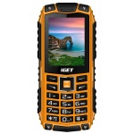 iGET Defender D10 Orange - odolný telefon IP68, DualSIM, 2500 mAh, BT, powerbanka, svítilna, FM, MP3, D10 Orange