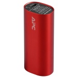 APC Mobile Power Pack, 3000mAh Li-on cylinder, Red (EMEA/CIS/MEA), M3RD-EC