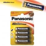 Alkalická baterie AA Panasonic Alkaline Power 4ks, 12036