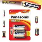 Alkalická baterie C Panasonic Pro Power LR14 2ks, 09832