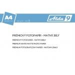Comgad ALDA9 Fotopapír A4 180 g/m2, prem. matný, 100listů, PAP54