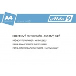 Comgad ALDA9 Fotopapír A4 220 g/m2, prem. matný, 20listů, PAP72