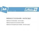 Comgad ALDA9 Fotopapír A4 250 g/m2, prem. matný, 20listů, PAP73