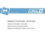 Comgad ALDA9 Fotopapír A4 250 g/m2, prem. matný, 50listů, PAP74