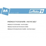 Comgad ALDA9 Fotopapír A4 250 g/m2, prem. matný, 500listů, PAP76
