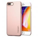 OCHRANNÝ KRYT (HARD) SPIGEN Thin Fit PRO APPLE IPHONE (7/8) PLUS - ROSE GOLD, 055CS22237