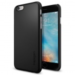 OCHRANNÝ KRYT SPIGEN Thin Fit PRO APPLE iPHONE 6/6S černý, SGP11592