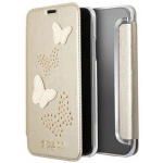 Guess Studs and Sparkle Book Beige pro iPhone X, 3700740407363