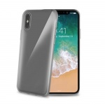 TPU pouzdro CELLY iPhone X/XS, černé, GELSKIN900BK
