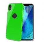 TPU pouzdro CELLY iPhone XR, limetkové, GELSKIN998LG