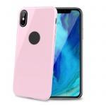 TPU pouzdro CELLY iPhone XS Max, růžové, GELSKIN999PK