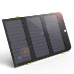 Allpowers AP-SP-002-BLA Solární Dobíječ 21W + 6000mAh PowerBank, 8596311031915