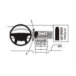 Brodit ProClip montážní konzole pro Toyota Corolla 02-08, PBR-853025