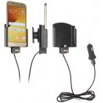 Brodit držák do auta nastavitelný s USB-C a nabíjením z cig. zapalovače/USB š.62-77 mm, tl. 6-10, PBR-521840