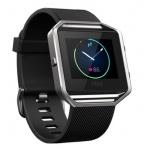Fitbit Blaze, Black, Silver, Small, EMEA, FB502SBKS-EU