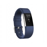 Fitbit Charge 2 Blue Silver - Large, FB407SBUL-EU