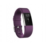 Fitbit Charge 2 Plum Silver - Large, FB407SPML-EU