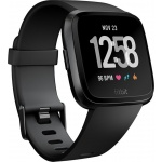 Fitbit Versa - Black / Black Aluminum, FB505GMBK-EU