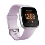 Fitbit Versa Lite - Lilac/Silver Aluminum, FB415SRLV