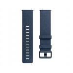 Fitbit Versa řemínek Leather Midnight Blue - Large, FB166LBNVL