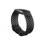 Fitbit Charge 3 sportovní řemínek Black Large, FB168SBBKL