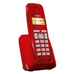 Gigaset DECT A120 Red, S30852-H2401-R604